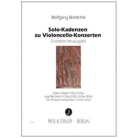 Boettcher, W.: Solo-Kadenzen zu Violoncello-Konzerten