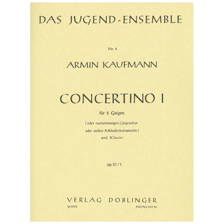 Kaufmann, A.: Concertino 1 Op. 57/1