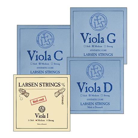 LARSEN viola strings SET