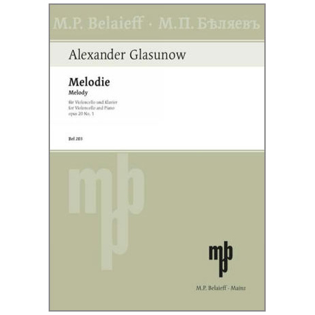 Glasunow, A.: Melodie Op. 20/1