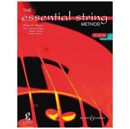 Nelson, S. M.: The Essential String Method Vol. 4 – Violin