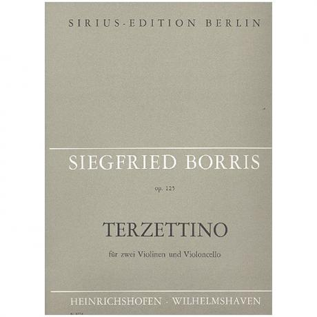 Borris, S.: Terzettino Op. 125