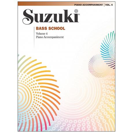 Suzuki Bass School Vol. 4 – Klavierbegleitung