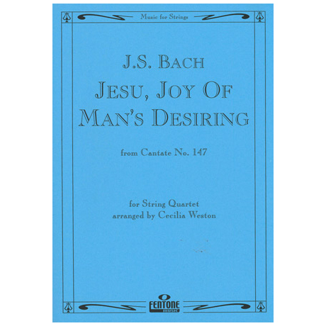 Bach, J.S.: Jesu, Joy of Man's Desiring (BWV 147)