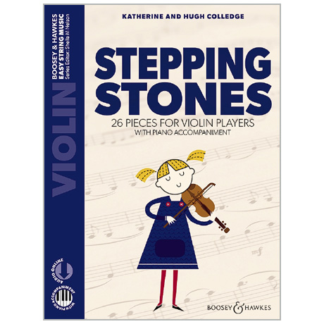 Colledge, K. & H.: Stepping Stones for Violin (+Online Audio)