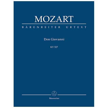 Mozart, W. A.: Il dissoluto punito ossia il Don Giovanni KV 527 – Dramma giocoso in zwei Akten