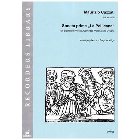 Cazzati, M.: Sonata prima »La Pellicana«