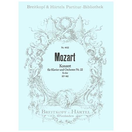 Mozart, W. A.: Klavierkonzert Nr. 22 Es-Dur KV 482
