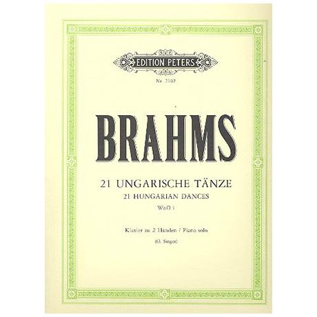 Brahms, J.: Ungarische Tänze 1 – 21