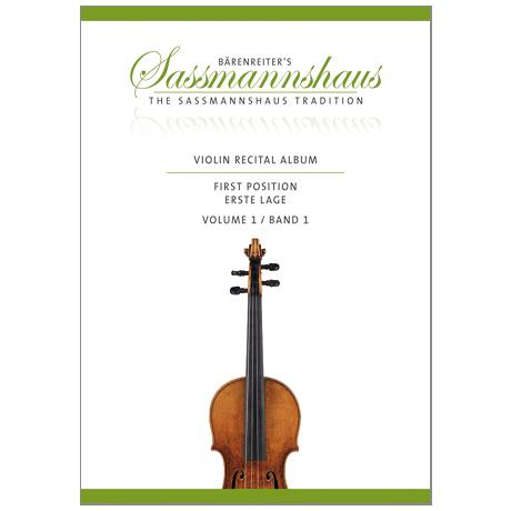 Sassmannshaus, K.: Violin Recital Album Band 1