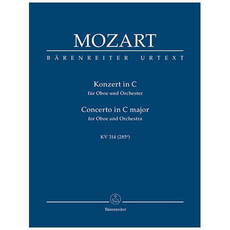 Mozart, W. A.: Konzert für Oboe und Orchester C-Dur KV 314 (285d)