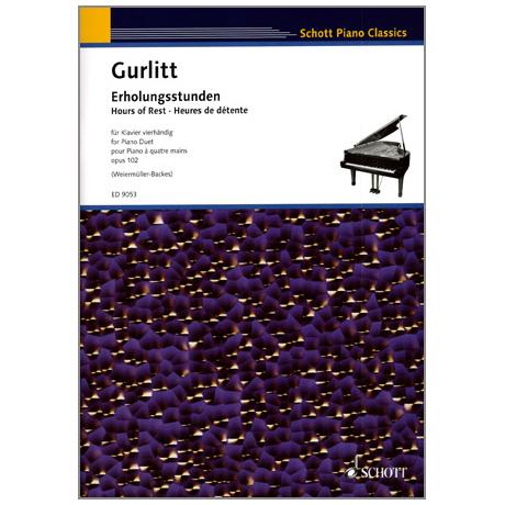 Schott Piano Classics – Gurlitt: Erholungsstunden