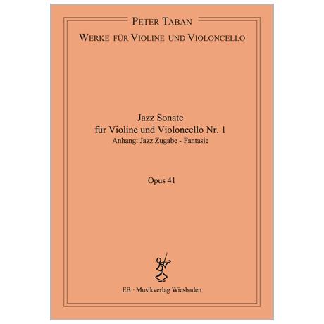 Taban, P.: Jazz Sonate Nr. 1 Op. 41 (2017)