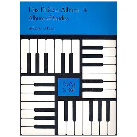 Das Etüden-Album für Klavier Heft 4