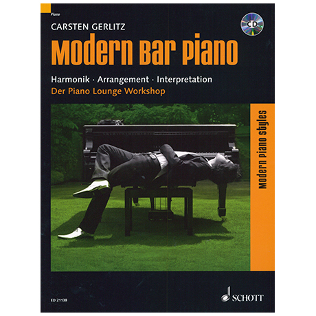 Gerlitz, C.: Modern Bar Piano (+CD)