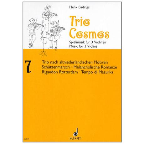 Badings, H. H.: Trio-Cosmos Nr. 7