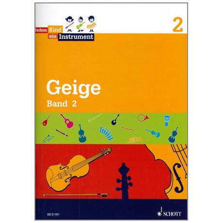 Jedem Kind ein Instrument – Geige Band 2