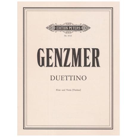 Genzmer, H.: Duettino