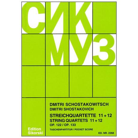 Shostakovich, D.: String Quartets Nos. 10 and 12