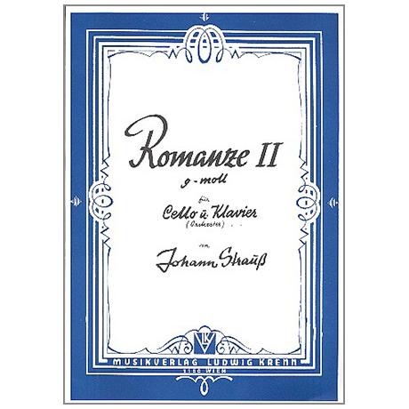 Strauß, J.: Romanze g-Moll Nr. 2 Op. 255