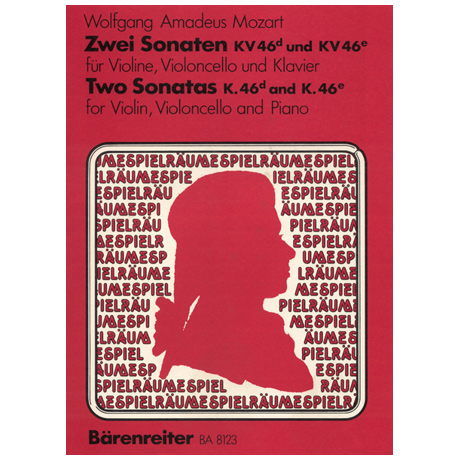 Mozart, W. A.: Zwei Sonaten KV 46d,e