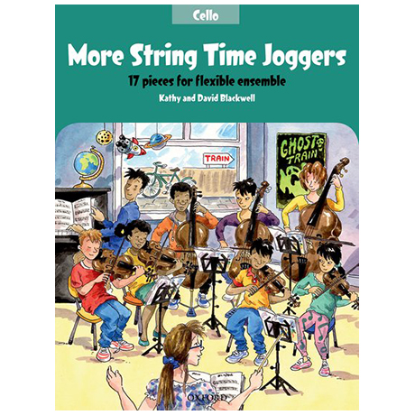 Blackwell, K. & D.: More String Time Joggers – Cello