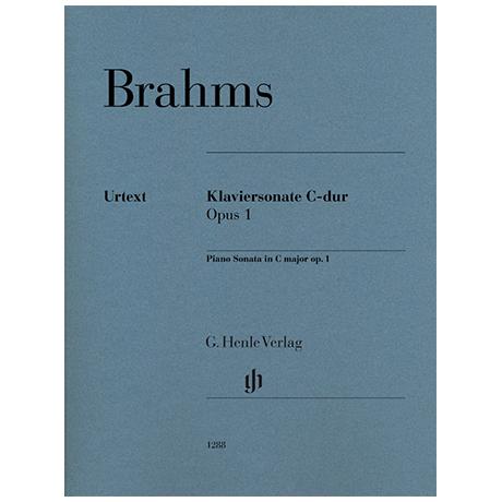 Brahms, J.: Klaviersonate Op. 1 C-Dur