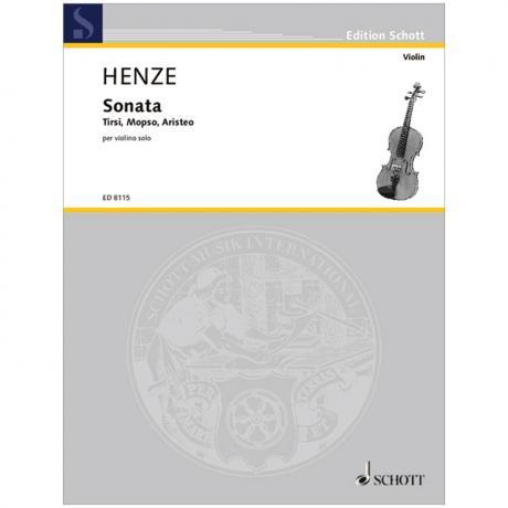 Henze, H. W.: Sonata (1976-77/1992)