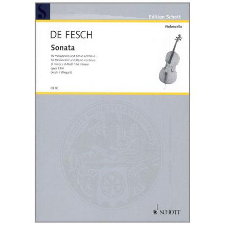 Fesch, W. d.: Sonata Op. 13/4 d-Moll