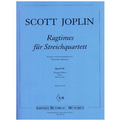 Joplin, S.: Ragtimes für Streichquartett Band 7