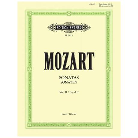 Mozart, W.A.: Sonaten Band II
