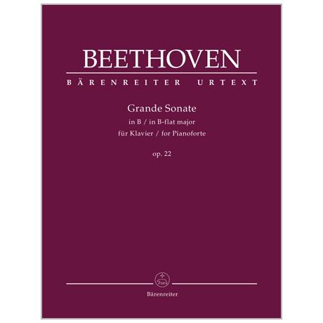 Beethoven, L. v.: Grande Sonate B-Dur Op. 22
