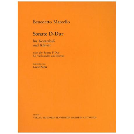 Marcello, B.: Kontrabasssonate D-Dur