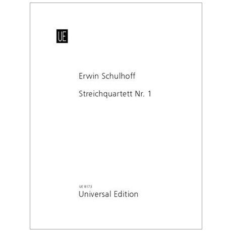 Schulhoff, E.: Streichquartett Nr. 1