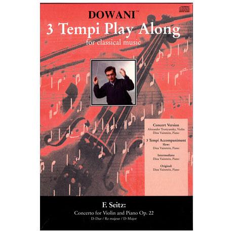 Seitz, F.: Violinkonzert Op. 22 – CD
