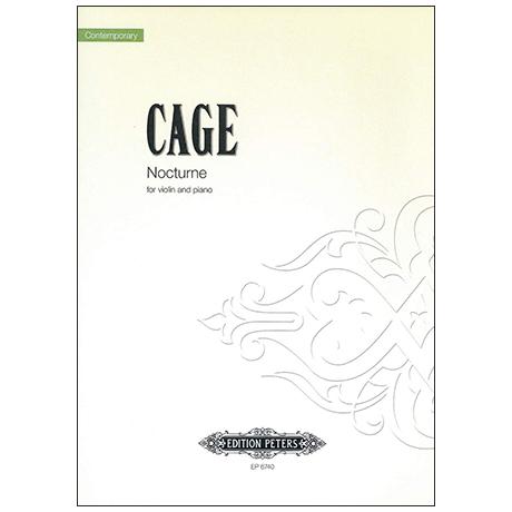 Cage, J.: Nocturne (1947)