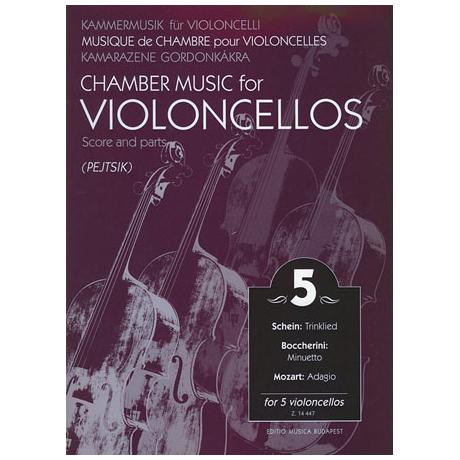 Kammermusik für Violoncelli Band 5