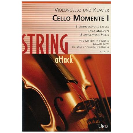 König, M.: Cello Momente I