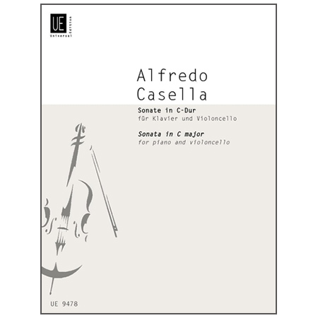 Casella, A.: Violoncellosonate Op. 45 C-Dur