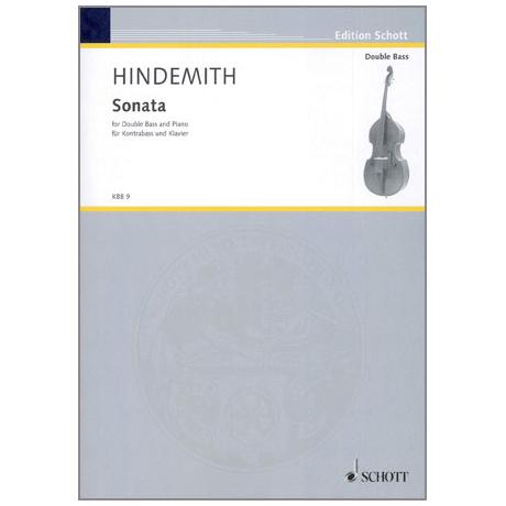 Hindemith, P.: Kontrabasssonate
