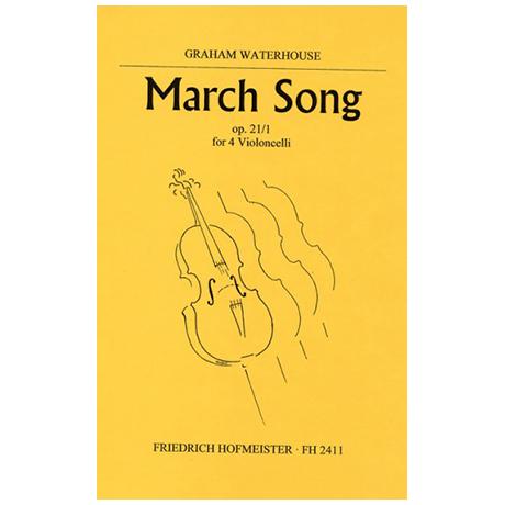 Waterhouse, G.: March Song Op. 21/1