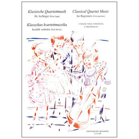 Musik für Anfänger - Klassische Quartettmusik