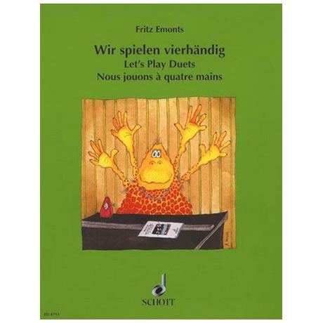 Emonts, F.: Wir spielen vierhändig