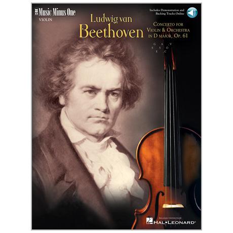 Beethoven, L. v.: Violinkonzert Op. 61 D-Dur (+Online Audio)