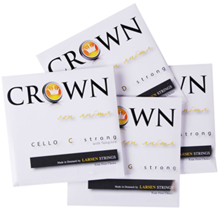 CROWN Strings by LARSEN cello strings SET
