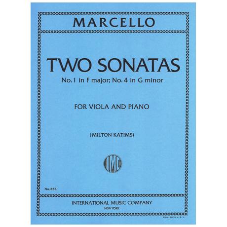 Marcello, B.: 2 Violasonaten in F-Dur & g-moll