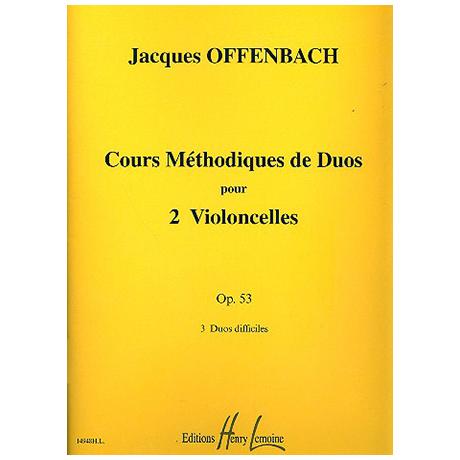 Offenbach, J.: Cours Méthodiques Op. 53