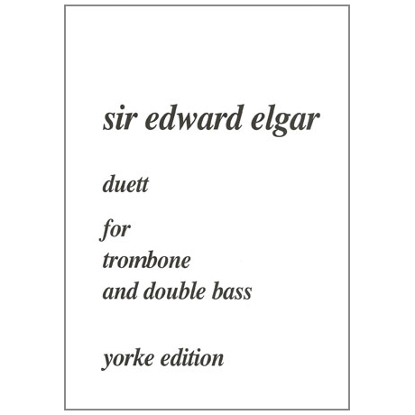 Elgar, E.: Duett