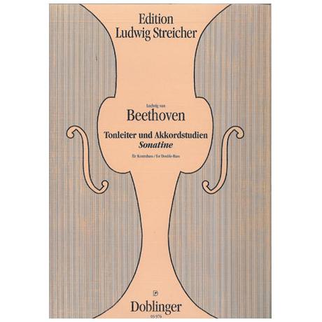 Beethoven, L. v.: Kontrabasssonatine WoO43