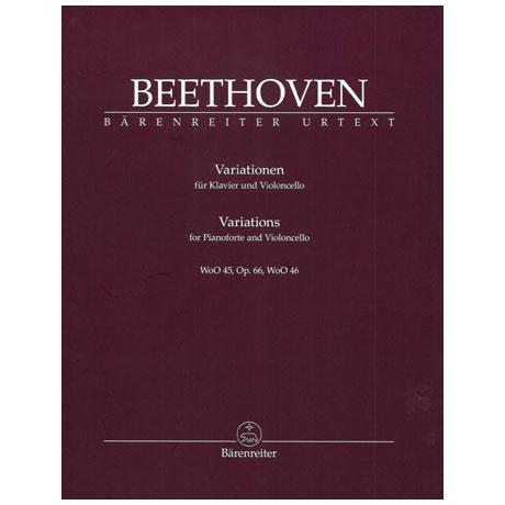 Beethoven, L. v.: Variationen Op. 66 WoO 45/WoO 46